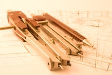 Free Architecture Draw Royalty Free Stock Images - 6883009