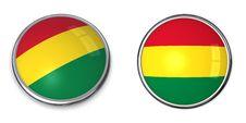 Free Banner Button Bolivia Royalty Free Stock Photos - 6883108