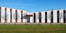 Free Panorama With White Building Stock Image - 6883231