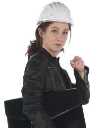 Free Portrait Of Architect Woman Stock Photo - 6883700