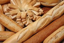 Free Bread Background Stock Image - 6884421