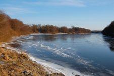 Free Winter River Stock Photo - 6884760