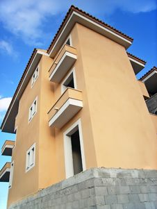 New Apartments Block Royalty Free Stock Photo