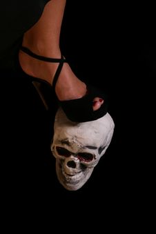 Free Foot On Skull Stock Images - 6885484