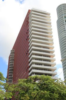 Free Highrise Apartment Building Stock Images - 6885554