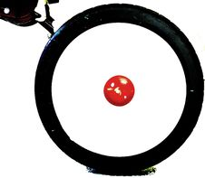 Free Bike Wheel Royalty Free Stock Photography - 6885877