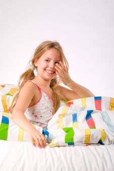 Free Rub Her Eyes Cleam From Sleep Stock Photo - 6885920