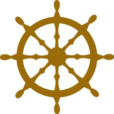 Free Steering Wheel Royalty Free Stock Image - 6886236