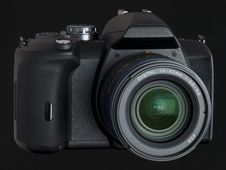 Free DSLR Front View Stock Image - 6886611