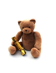 Free Bear With Cracker Royalty Free Stock Photos - 6886998