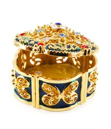 Free Half-open Jewel Box Royalty Free Stock Image - 6887066
