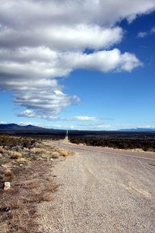 Free Desert Road Stock Photography - 6887152