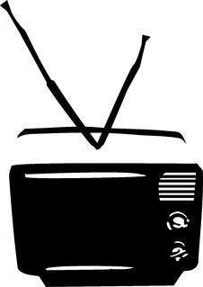 Free TV Royalty Free Stock Photo - 6887725