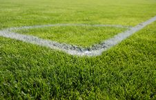 Free Place For Corner Kick Royalty Free Stock Photography - 6887747