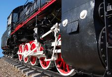 Free Vintage Steam Locomotive Stock Image - 6887871