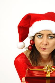 Free Puzzled About Christmas Gift Royalty Free Stock Photography - 6887987