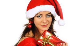 Free Playing Father Christmas Royalty Free Stock Photography - 6888017