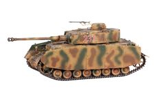 Model Of Pz-IV Tank Royalty Free Stock Photo