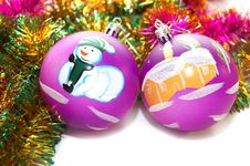 Free Christmas-tree Decorations Stock Photo - 6888760