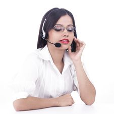 Free Girl On The Phone Stock Image - 6889061