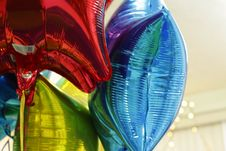 Free Helium Colorful Bright Ballons Royalty Free Stock Photo - 68862885
