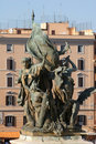 Free Rome - Detail From Vittorio Emanuel Landmark Stock Photography - 6892542