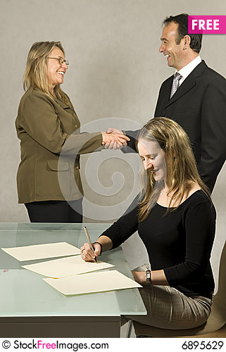 Free People In Business Meeting Royalty Free Stock Images - 6895629