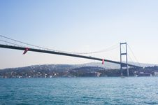 Bosporus Bridges Royalty Free Stock Photos