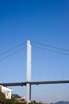 Bosporus Bridges Royalty Free Stock Images