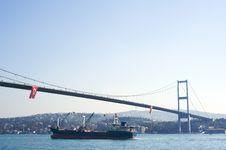 Bosporus Bridges Stock Photography