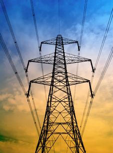Free Electricity Pylon Royalty Free Stock Photos - 6891318