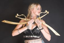 Free Belly Dancer Stock Photography - 6891432
