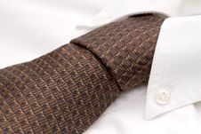 Free Close-up Of A Dress Shirt And Tie Royalty Free Stock Photography - 6891907