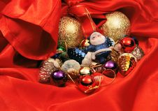 Free Christmas Toys Royalty Free Stock Image - 6892226