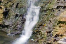 Free Small Waterfall. Horizontal. Stock Photos - 6892433