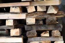 Free Firewood Royalty Free Stock Images - 6892679