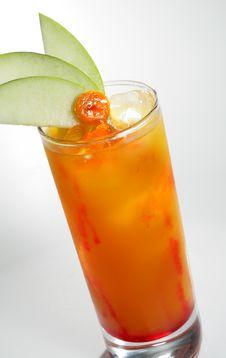 Free Orange Alcohol Cocktail Stock Photography - 6893152