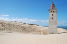 Free Lighthouse Of Rubjergknude Royalty Free Stock Photos - 6893478