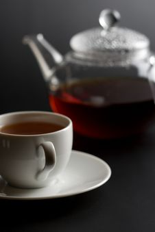 Free Cup Of Tea And Tea Pot Stock Images - 6894094
