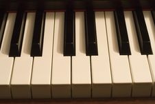 Free Piano Keys Stock Images - 6894174
