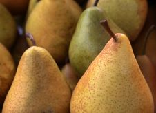 Free Pears On Market Stall Stock Photos - 6894243