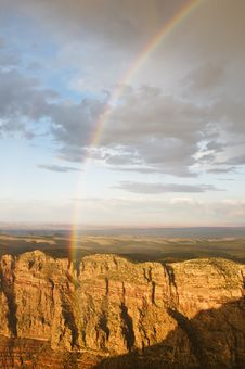 Free Rainbow At The Grand Canyon Stock Photos - 6894573