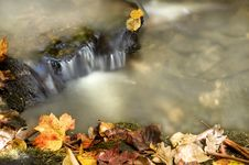 Free Autumn Waterfall Stock Photo - 6894710