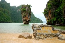 Free James Bond Island Royalty Free Stock Photo - 6894855
