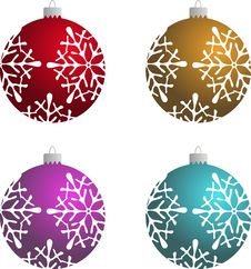 Free Christmas Ball Royalty Free Stock Images - 6895249