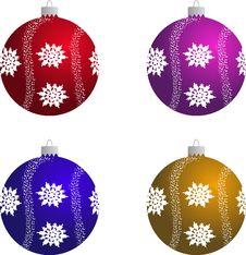 Free Christmas Ball Royalty Free Stock Photo - 6895255