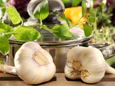Free Garlic Royalty Free Stock Photography - 6895517