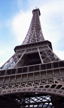 Eiffel Tower, Paris France Royalty Free Stock Image