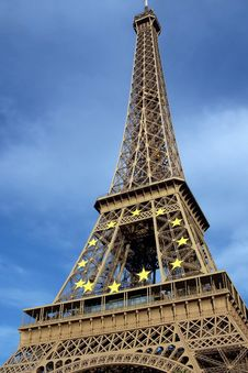 Free Eiffel Tower, Paris France Stock Photography - 6895712