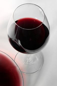 Free Glass Of Wine And Decanter Royalty Free Stock Photos - 6895728